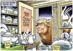 David Horsey cartoon Don the Con Trump