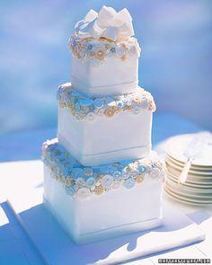 Sugar button cake