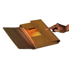 ECOM Corrugated 3 Ply Folder 10.00 X 6.00 X 2.00 Inches