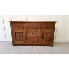 Slimline reclaimed wood Sideboard