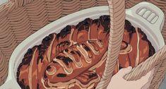 琪琪的送货服务壁纸-Imgur专辑 Kiki Delivery, Kiki's Delivery Service, Studio Ghibli Art, Studio Ghibli Movies, Pom Poko, Fish Pie, Food Wallpaper, Aesthetic Japan, Old Anime