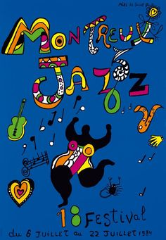 Montreux 1984 Artwork by Niki de Saint Phalle