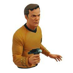 Star Trek Original Series Capitão Kirk Bust Banco