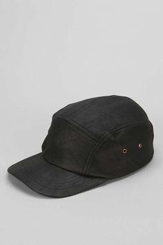 ZANEROBE Black Leather 5-Panel Hat - Urban Outfitters 5 Panel Hat 09b2c1090de6