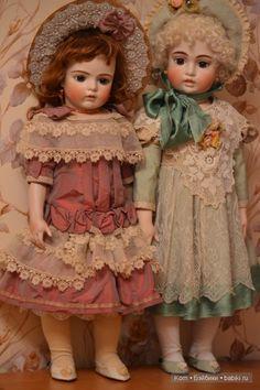 Красавицы из прошлого. Часть III. Мои репродукции Брю от Jamie Englert / Винтажные антикварные куклы, реплики / Бэйбики. Куклы фото. Одежда для кукол