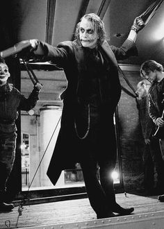 Heath Ledger as The Joker (The Dark Knight) Joker Batman, Joker Heath, Joker Art, Heath Legder, Superman, Joker Dark Knight, The Dark Knight Trilogy, Joker Photos, Joker Images
