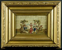 Garden Dancing Party 19th Century Framed by LavishShoestring, £75.00