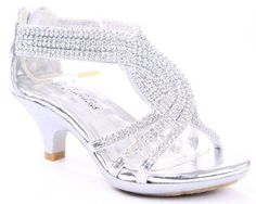 b7b38ed3b74 FOREVER Angel-37 Women Rhinestone Platform Pumps Sandals Prom Wedding Shoes