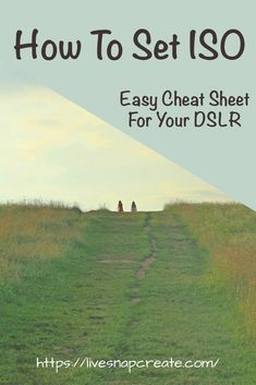 Learn how easy it is to set your DSLR's ISO. Great cheat sheet included to make it super easy. Dslr Photography Tips, Photography Lessons, Photography For Beginners, Photoshop Photography, Photography Tutorials, Digital Photography, Wedding Photography, Inspiring Photography, Flash Photography