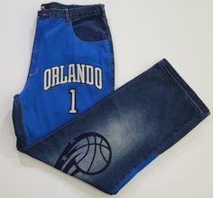 UNK Denim Orlando Magic Tracy McGrady Men's Jeans Size 42 #UNKDenium