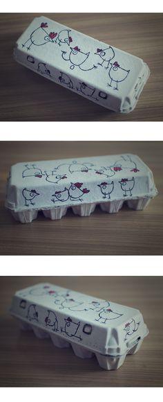 Httpsetsyfrlisting176722250egg carton labels custom egg packaging kurosutra on behance pronofoot35fo Gallery