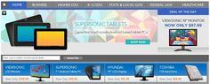 """We like you, and that's why we are offering our fans """"Exclusive Week-end Only"""" access to our new homepage full of great deals including Viewsonic 19"""" Monitors for $97.99, Toshiba 1TB Hard Drive for $69.99, 7"""" Android Tablet for $95.99, and 3-D Ready Projectors. Click on this special link only available thru social media. http://ow.ly/eCFF1"""