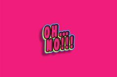 hot pink & sh-- | via merde mess ~ Cityhaüs Design
