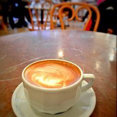 A nearly perfect latte