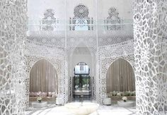 Royal Mansour in Marrakech. An homage to Moroccan Pattern & Design