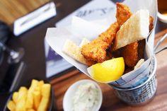 Dane's Yard Kitchen Review - Fish Goujons