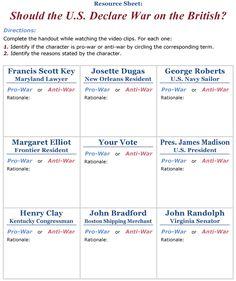Cast Your Vote - 1812