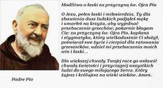 Pięć rad ojca Pio do tego, byś był pobożny! Religious Education, Music Humor, Prayers, Dom, Netherlands, Saints, Bible, Catholic, Health