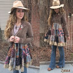Hippy Patchwork Jacket Size S/Mfestival jacket patchwork by zasra                                                                                                                                                                                 More