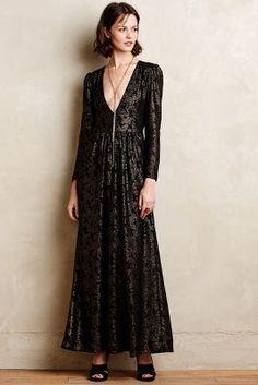 Selene Lace Maxi Dress #Anthropologie