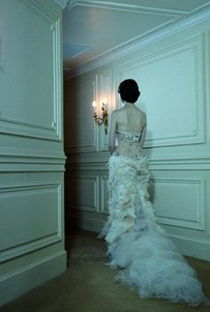 Gleaming Evenings by Miles Aldridge, Vogue Italia.