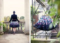 DIY flower applique skirt for Marie Claire Mexico http://www.styleslicker.com/2012/11/28/diy-mcq-aw12-inspired-flower-applique-skirt-for-marie-claire-mexico/
