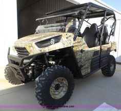 2012 Kawasaki Teryx4 utility vehicle   Item J8957 selling at Wednesday April 20 Vehicles and Equipment Auction   Purple Wave, Inc.