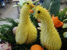 Vegetable and Fruit Carving