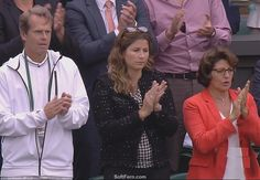 Roger Federers' coach Stefan Bengt Edberg (L), Mirka Federer – wife of Roger Federer and her mother-in-law  Video: Wimbledon 2015. Men Singles, After Final Trophy Presentation. ... 28  PHOTOS  ... Watch the after game trophy presentation, listen their post-match interviews, find out how  Wimbledon 2015 grass tests for Djokovic…  More details:   http://softfern.com/NewsDtls.aspx?id=1030&catgry=3    SoftFern News, SoftFern Sport News, SoftFern Health and Beauty News, tennis, SoftFern videos…
