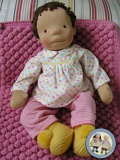 Waldorf baby doll by Lalinda.pl