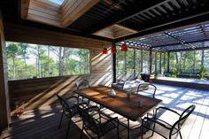 Réalisé par l'agence Les comptoires de l'architecture    Extension de maison - Terrasse  Retrouvez les réalisations de l'agence sur Archidvisor