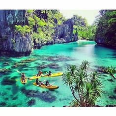 Big Lagoon, El Nido, Palawan  via @jeremyjauncey & @melstrojr HAPPY SAINT PATRICK'S DAY! We're feeling festive & want to share the luck with you! Use the code STPATS when you checkout on all orders placed for FREE SHIPPING (still St. Pat's Day in the USA) - #yourtea #wanderlust #travelgoals #bucketlist #palawan