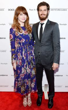 How adorable are Emma Stone & Andrew Garfield on the red carpet together?! Cutest couple EVER!