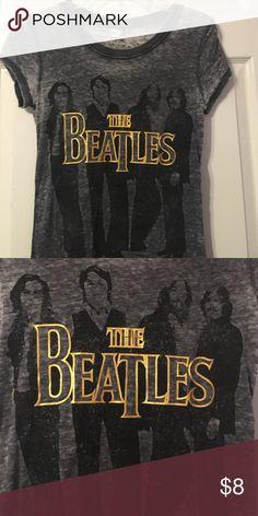 The Beatles band tee Cotton scoop neck Beatles band tee Tops Tees - Short Sleeve