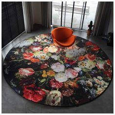 Een van onze #favorieten onder de Moooi Carpets #design #vloerkleden.. het Eden Queen Karpet naar een ontwerp van #Marcel #Wanders! Verkrijgbaar in twee verschillende afmetingen.   #Moooi #Carpets #Eden #Queen Vloerkleed | #MisterDesign