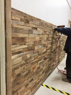DIY Deko Holz Rough Sawn Barn Wood Trim, Antique Fass Collection Requested, # Antique Wood Slat Wall, Wood Slats, Wooden Walls, Wood Paneling, Wood Wood, Barn Wood Walls, Diy Wood Wall, Barn Wood Frames, Wood Pallets