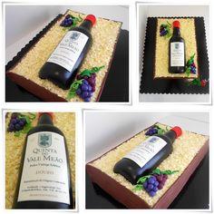 Birthday cake for men fondant decorating supplies 69 ideas 40th Birthday Cupcakes, Birthday Cakes For Men, 65th Birthday, Happy Birthday, 3d Cakes, Fondant Cakes, Cupcake Cakes, Dinosaur Cake Tutorial, Wine Bottle Cake