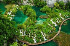Parque Nacional dos Lagos de Plitvice, Croácia #Croatia #Travel