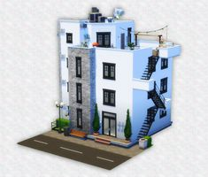 Sims 3 Houses Ideas, Sims 4 Houses Layout, House Layouts, Sims Ideas, Sims 4 House Building, Sims House Plans, My Sims, Sims Cc, Sims 4 Expansions