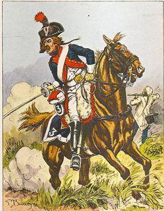 French; 3rd Regiment of Line Cavalry, Trooper, Grande Tenue, 1799-1802