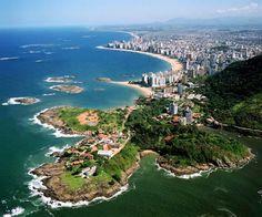 Farol de Santa Luzia - Praia do Ribeiro - Praia da Costa - Praia de Itaparica - Praia de Itapuã - Vila Velha/ES