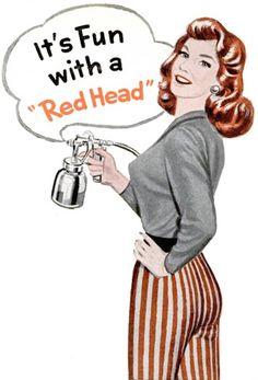 Johnson Red Head Spray Gun, 1957