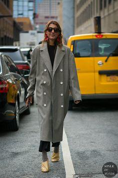 New York Fashion Week Fall 2017 Street Style: Ramya Giangola