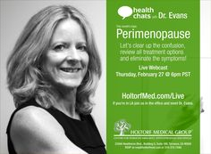 Heatlh Chats with Dr. Evans: Perimenopause