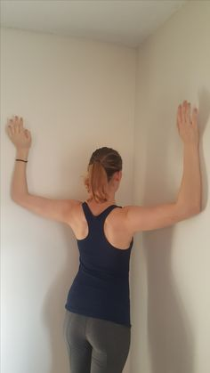 Improve posture with this simple technique. Alleviate back pain. Use a back brace to achieve the perfect posture. Live a life free of back pain. Natural Posture's infromation on posture improvement and correction. Posture Correction Exercises, Posture Stretches, Posture Fix, Neck Exercises, Improve Posture, Shoulder Exercises, Exercises For Good Posture, Kyphosis Exercises, Neck And Shoulder Stretches