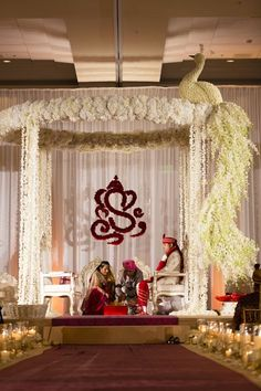 Indiana Indian Wedding by Nathaniel Edmunds Photography - 2 - Indian Wedding Site Home - Indian Wedding Site - Indian Wedding Vendors, Clothes, Invitations, and Pictures. Wedding Ceremony Ideas, Wedding Hall Decorations, Marriage Decoration, Wedding Mandap, Ceremony Backdrop, Wedding Vendors, Wedding Blog, Wedding Photos, Tamil Wedding