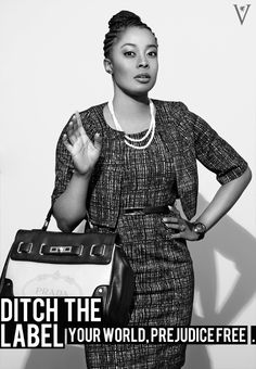 Ditch the Label: campaign for equality and a world without prejudice. Summer 2012 campaign: women, woman, workplace, equality, black, mixed race, stereotypes, ditch the label, inspirational