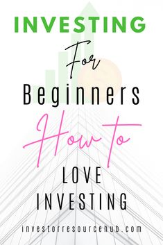 Follow these steps to learn how to really love investing and find success long term. Learn Stock Market, Stock Market Investing, Best Way To Invest, Where To Invest, Value Investing, Investing Money, Money Tips, Money Saving Tips, Financial Goals