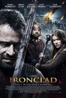 Based loosely on the 2nd siege of Rochester Castle during the Baron's rebellion after the signing of the Magna Carta.  The film has a gray look to it, enhancing the dreariness of England in medieval times.  The fight scenes are brutal and bloody and filmed with handheld cameras and close shots to give you a sense of the chaos of battle.  Overall 5/6 of 10, though it is worth seeing just for Paul Giamatti's (good as always) portrayal of King John.