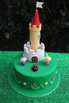 Ben and Holly's Little Kingdom Cake - My first Novelty Cake - Cake by MishDecorate